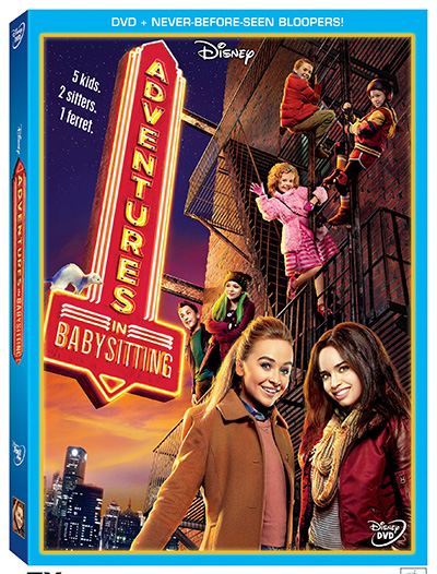 Adventures in Babysitting on DVD