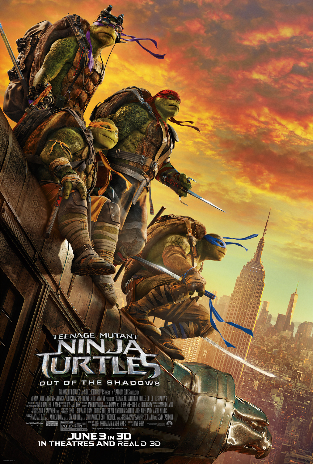 Teenage Muntant Ninja Turtles: Out of The Shadows