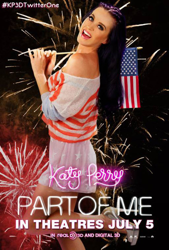 Katy Perry Special Twitter 1-Sheet